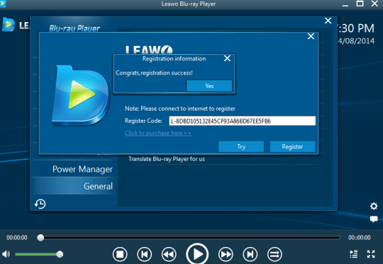 Leawo Blu-ray Player license