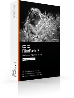 DxO FilmPack 5 Essential Edition Free for both Mac & Windows