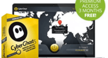Cyberghost 5 VPN Premium Free for 1 year