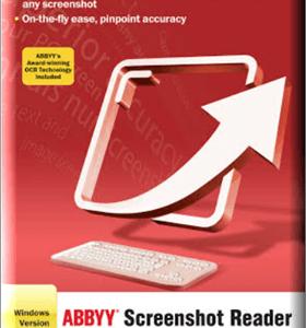 ABBYY Screenshot Reader box