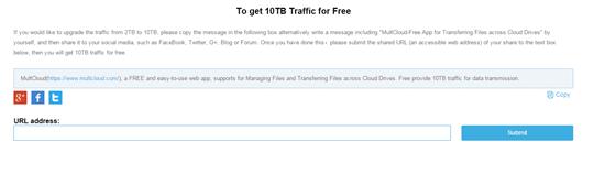 free 2tb multcloud traffic