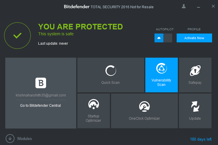bitdefender total security 2016 free for 6 month