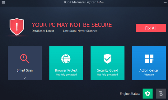 iobit malware fighter pro 4
