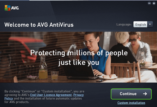 avg internet security installation