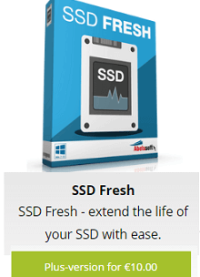 Abelssoft SSD Fresh Plus Free for a Limited Time
