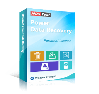 MiniTool Power Data Recovery Personal (Standard) Free License