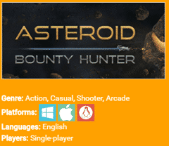 Free Asteroid Bounty Hunter Game Steam Key