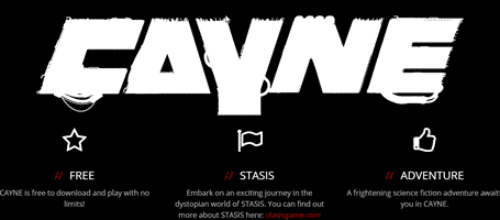 CAYNE – The FREE Horror Adventure Game