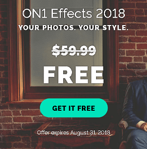 ON1 Effects 2018 Photo Editing Software Available for Free [Win & Mac]