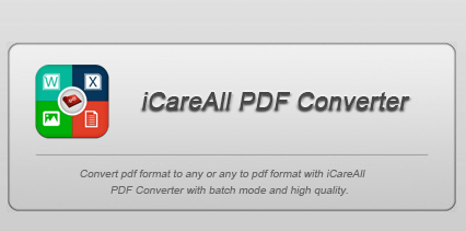 iCareAll PDF Converter Home Free License