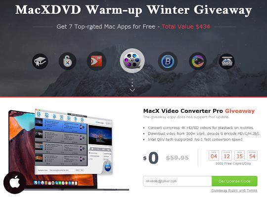MacX Video Converter Pro giveaway