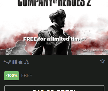 Company of Heroes 2 Game Available Free on Steam