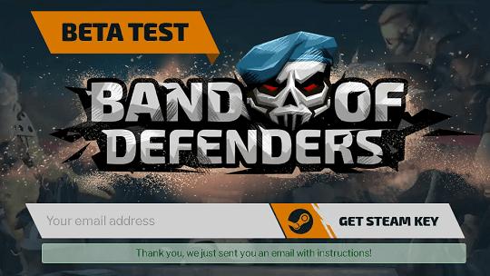 Band of Defenders Beta Free Steam Key