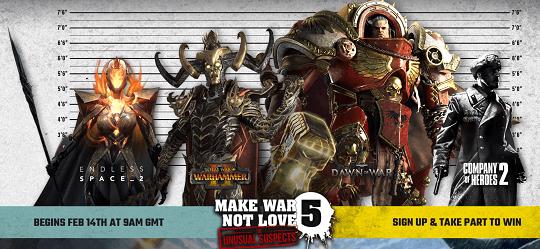 SEGA Make War Not Love -Free Steam Games for 5 days