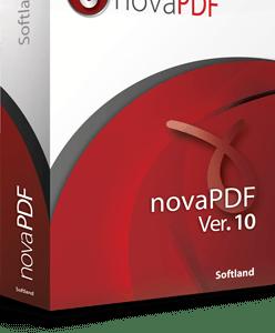 novaPDF Lite 10 box