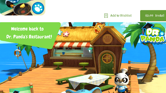 Dr. Panda Restaurant 2 Kids Game Available Free for both Android & iOS