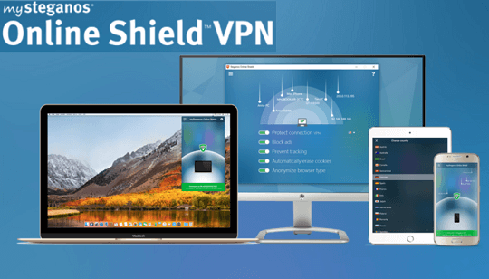 mySteganos Online Shield VPN box