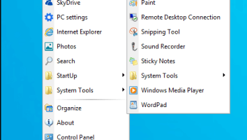 spencer windows xp start menu to windows 10