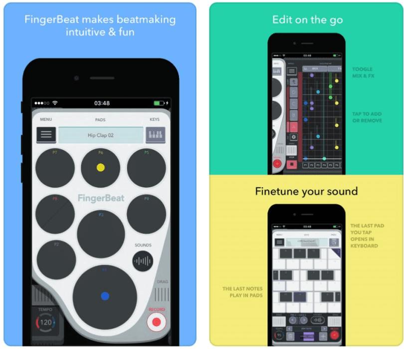 fingerbeat app
