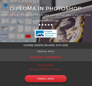 shaw academy diploma in Photoshop