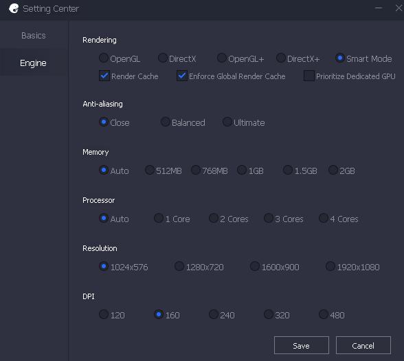 PUBG MOBILE PC emulator settings