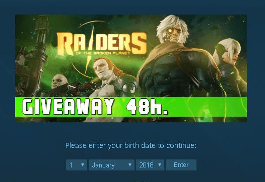 Raiders of the Broken Planet Giveaway