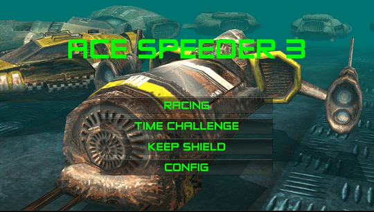 AceSpeeder3 Racing Game for Android Now Free