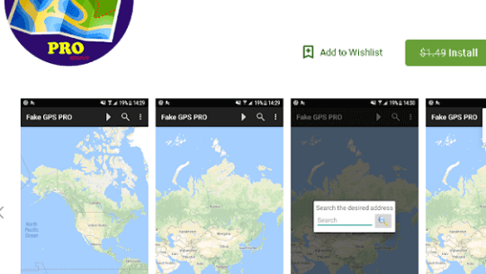 Fake GPS Location PRO Android App Now Free [Worth $1.49]