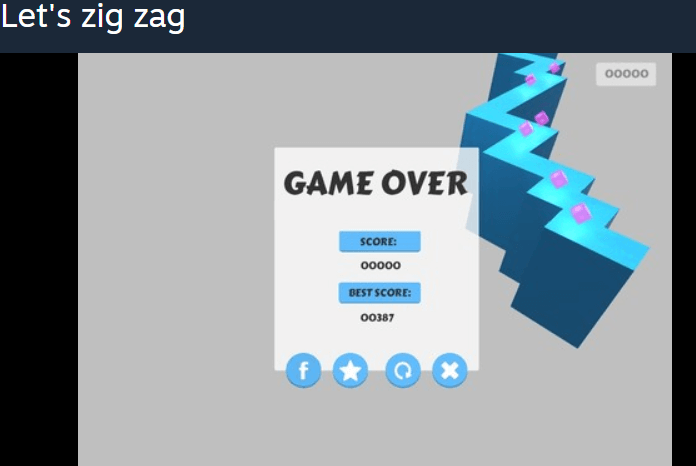 Let's zig zag – Casual Indie Game Free Steam Key