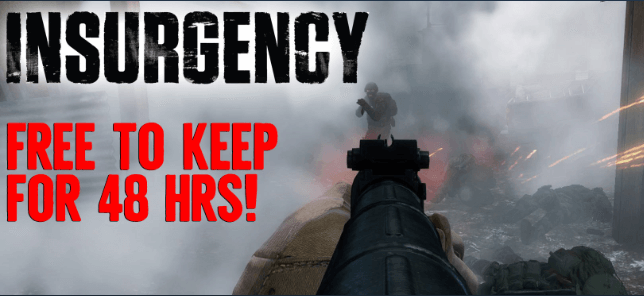 Insurgency FPS Game Completely Free [48 hours Giveaway]