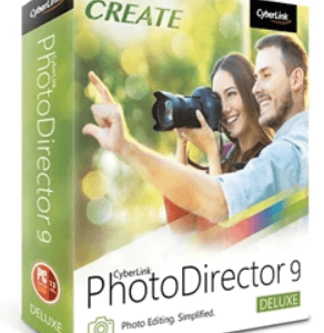 Cyberlink PhotoDirector Deluxe 9