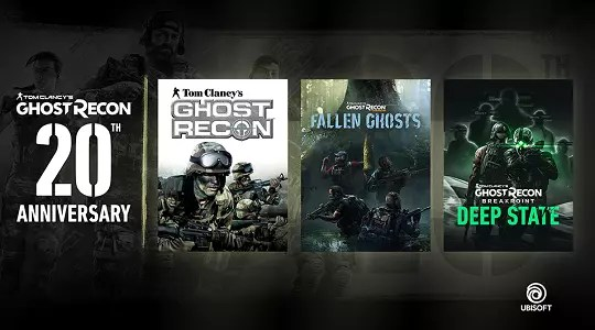Ghost Recon Game 20th Anniversary