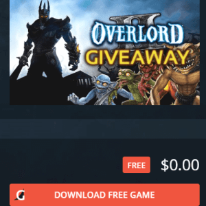 Overlord 2 giveaway