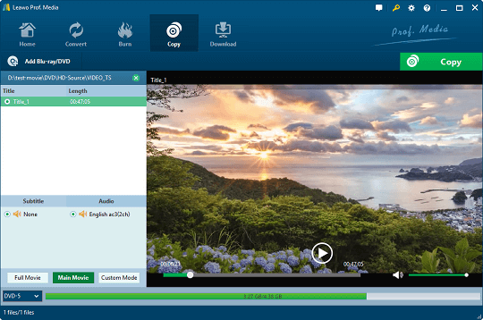 Leawo DVD Copy Free License Giveaway [Windows & Mac]