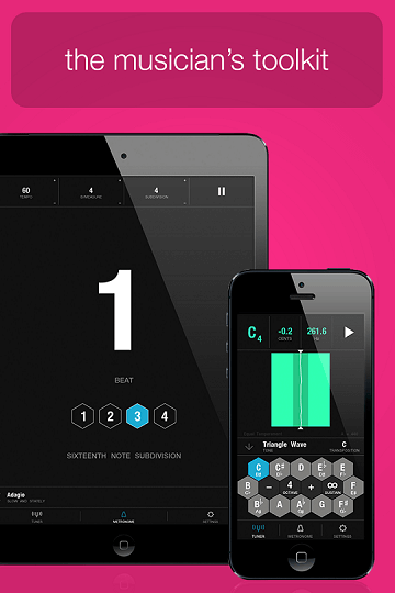 Tunable – Music Practice Tools iOS App Available for Free