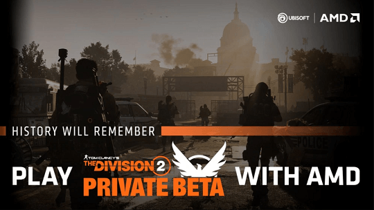 Tom Clancy's The Division 2 Free Access to Private Beta