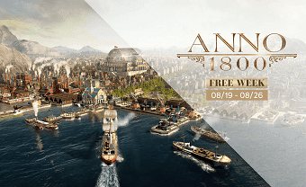 Anno 1800 City building Game Free to Play till 26 August