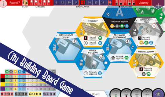 SUBURBIA City Building Board Game Available for Free [Android & iOS]