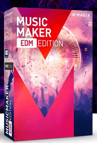 MAGIX Music Maker EDM Edition Free License [Windows]