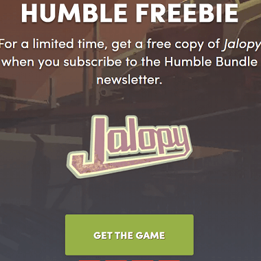 Jalopy – Road Trip Simulation game Now Free [limited-time]