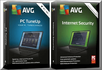 AVG Internet Security 2020 and AVG TuneUp Free for 1 Year [windows]