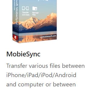 Aiseesoft MobieSync box