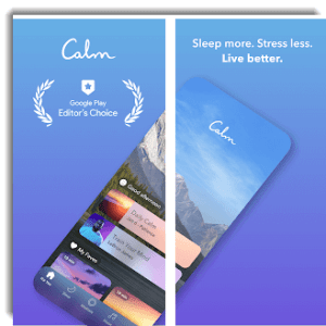 calm app box shot