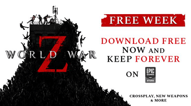 World War Z is FREE to download
