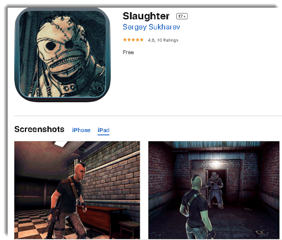 slaughter - third-person shooter