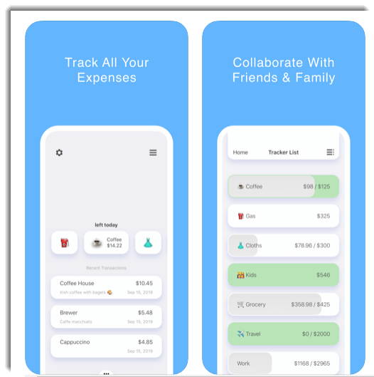 the prax - Track your daily expenses