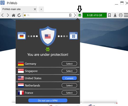 Abelssoft PriWeb Browser