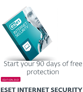 ESET Internet Security 2021 -90 Days Trail