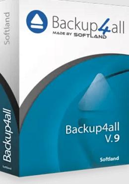 Backup4all 9 Box shot