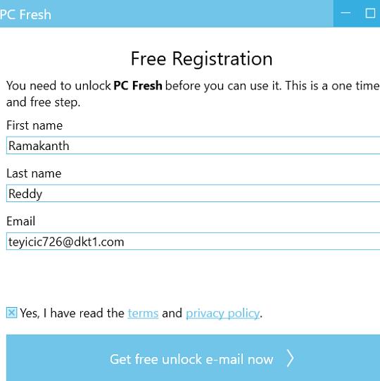 Abelssoft PC Fresh Unlock code